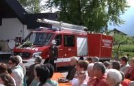 Fahrzeugweihe der Freiwillige Feuerwehr Tarrenz