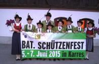 Ankünder Bataillonsfest Karres
