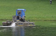 Unterwassermäharbeiten am Mieminger Badesee