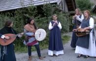 Mittelalterliche Musik in der Knappenwelt Gurgltal