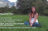 Spendenaufruf Nepalhilfe: Julia Fischnaller