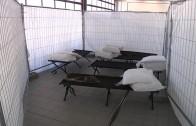 Flüchtlingsunterbringung in der Landesfeuerwehrschule Telfs