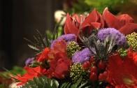 Weihnachtseröffnung Blumen Glantschnig
