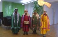 Heiligen drei Könige zu Gast im Studio