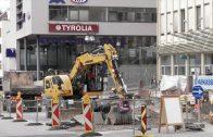 Baustelle Vorderer Sparkassenplatz