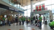 Flashmob der Jugendmusik Telfs