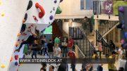 Eröffnung Steinblock Boulderhalle