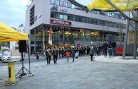 Eröffnung Sparkassenplatz