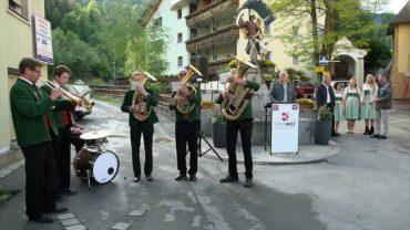 Eröffnung Rosengartenschlucht und Feierabend mit Freunden