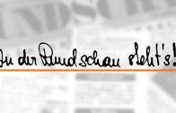 Rundschau Kurz Notiert 19-2018