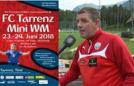 Ankündigung FC Tarrenz – Mini WM