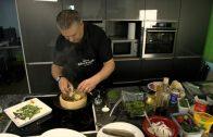 Kochen Marcel Bruckner für Kiwanis