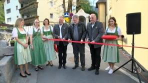 Eröffnung Rosengartenschlucht