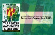 Patronanz Gassenfest 2019