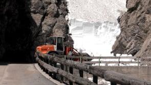 Schnee- und Felsräumungen Hahntenjoch 2019