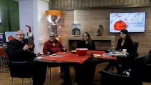 Harry Triendl, Daniela Pfeifer und Gerald Nitsche im Studio