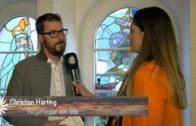 Bürgermeister Christian Härting lädt zum Schleicherlaufen.