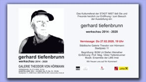 Vernissage in der Galerie Theodor von Hörmann