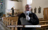 Abbau der Fastenkrippe in der Johanneskirche – Interview mit Hanspeter Aschaber