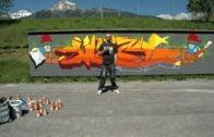 Graffitikünstler in Imst