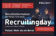 Recruitingday der Polizei Tirol