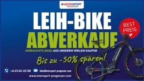 Leih-Bike Abverkauf beim Intersport Pregenzer