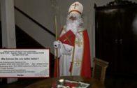 Besuch vom Heiligen Nikolaus