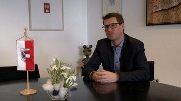 Jahresrückblick mit Telfer Bürgermeister Christian Härting