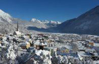 """Oberland von Oben """"Gurgltal im Schnee"""""""